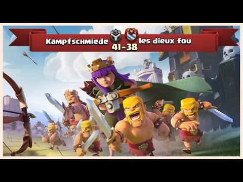 CW Recap | Kampfschmiede vs les dieux fou | 3 Star Fights | TH 9, 10, 12 COC 2018