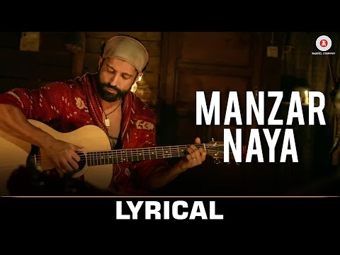 Manzar Naya - Lyrical | Rock On 2 | Farhan Akhtar,