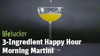 Delicious Cocktail - Morning Martini