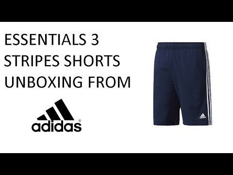 Essentials 3 Stripes | Adidas | Training Shorts | Navy Blue | Unboxing | Ep 10