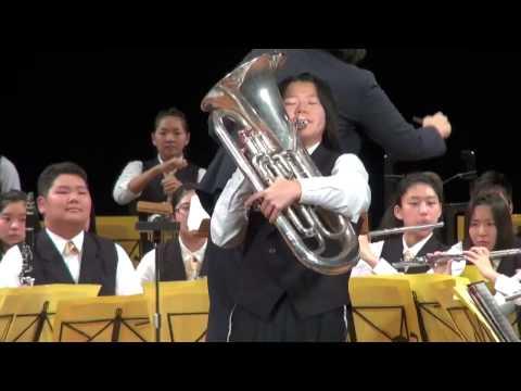 曙川南中学校吹奏楽部 2015.1.10