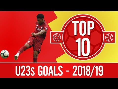 Video: Top 10: The best U23s goals from 2018/19 | Jones, Brewster, Origi