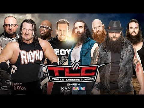 WWE TLC 2015 Preview: 8-Man Elimination Tables Match: The Wyatt Family vs ECW Originals