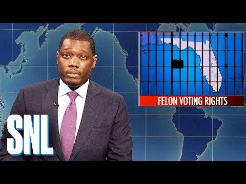 Weekend Update: Florida Voting Rights Initiative - SNL