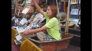Floating Market Bangkok Thailand
