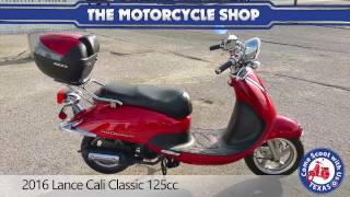 6. 2016 lance cali classic 125cc scooter