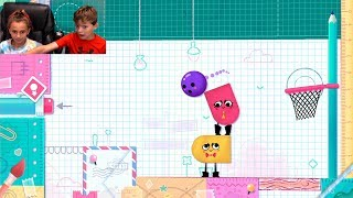Video The Boss Level | SnipperClips Ep-2 | Gaming With Kayla And Tyler Davis MP3, 3GP, MP4, WEBM, AVI, FLV Maret 2019