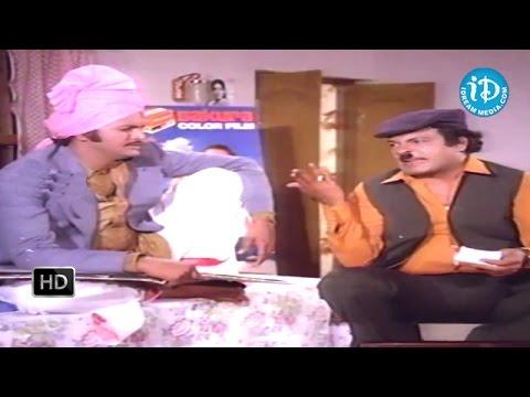 Bhale Ramudu Movie - Mohan Babu, Nutan Prasad Comedy Scene