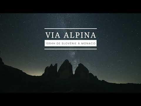 VIA ALPINA - 2650KM D+150000m - TRAILER
