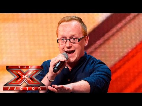 Joseph McCaul fights for his dream | Auditions Week 4 | The X Factor UK 2015 (видео)