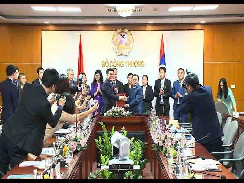Việt Nam – Lào thúc đẩy hợp tác thương mại, công nghiệp và năng lượng