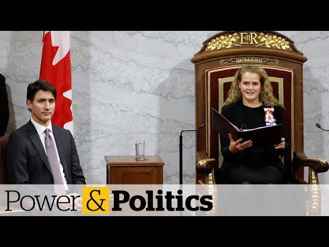 What the throne speech says about Trudeau39s priorities  Power amp Politics