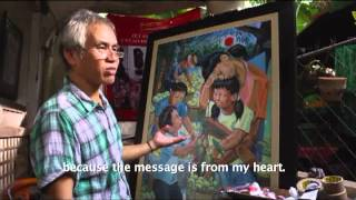 VIDEO: Painting can be one's altar of prayer