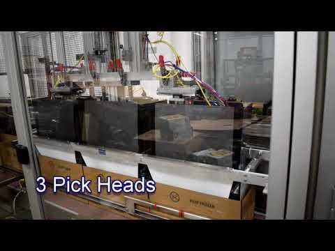 2-EZHS SPP 2-4 Pick Heads Packing Garlic Bread