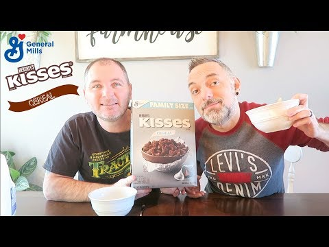 Hershey's Kisses Cereal Review!
