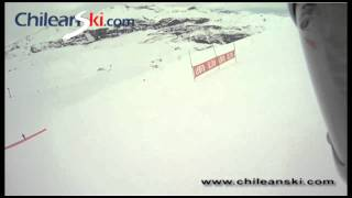 Cono Este ski trail video, El Colorado Chile