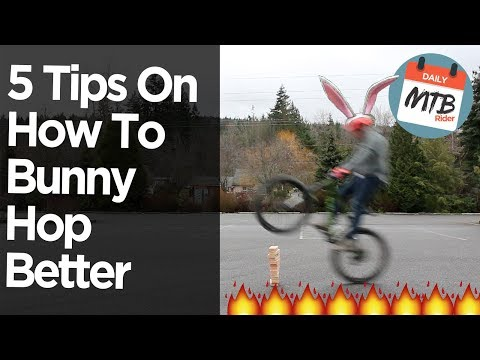 How To Bunny Hop A Bike - A Better Way To Learn!