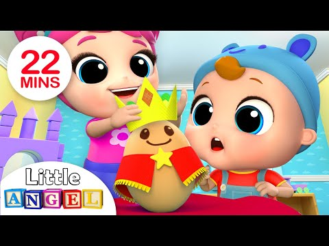 Humpty Dumpty Wears the Crown | Nursery Rhymes by Little Angel - Thời lượng: 21 phút.