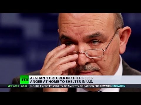 Afghan 'torturer in chief' flees anger at home, finds shelter in US