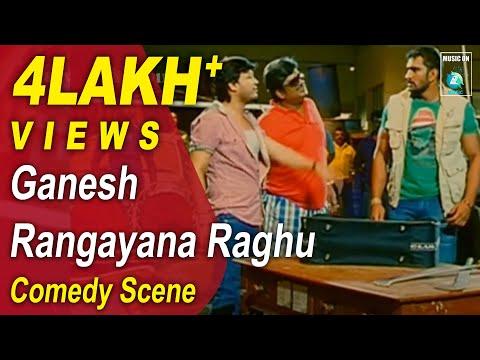 Rangayana Raghu Comedy Scene In HD | MR 420 Movie | Ganesh,Pranitha,Rangayana Raghu