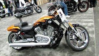 8. 2014 Harley-Davidson VRSC V-Rod Muscle Walkaround - 2013 New York Motorcycle Show