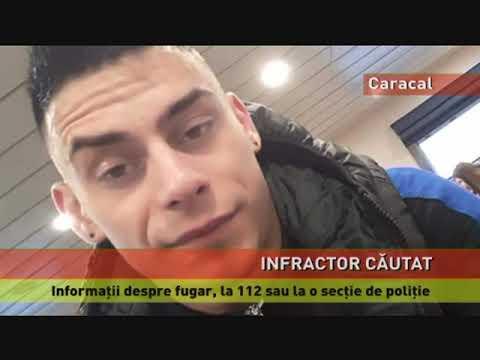 Tâlharul de la sala de jocuri de noroc din Caracal, căutat de polițiști
