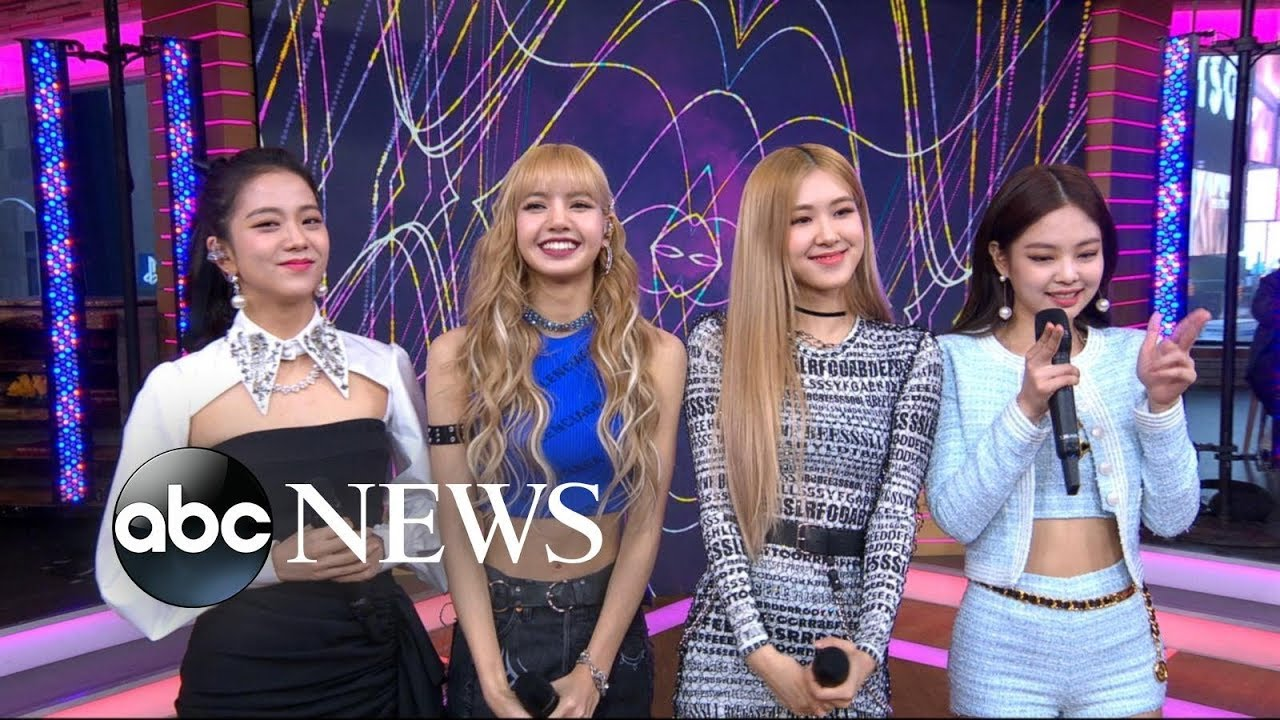 "BLACKPINK PERFORMS ""DDU-DU DDU-DU"" ON ""GOOD MORNING AMERICA"""