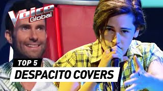 Video BEST DESPACITO covers in The Voice | The Voice Global MP3, 3GP, MP4, WEBM, AVI, FLV Mei 2018