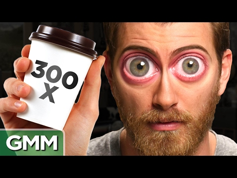 11 • E13___  _    What Happens When You Drink 300 Cups of Coffee?
