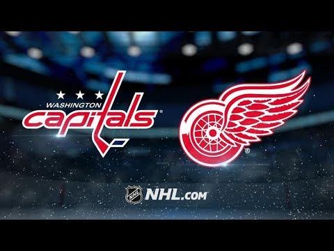 Washington Capitals Vs. Detroit Red Wings | NHL Game Recap | October 20, 2017 | HD