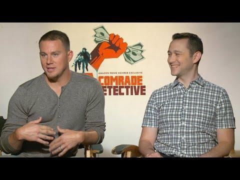 Channing Tatum and Joseph Gordon-Levitt discuss Comrade Detective