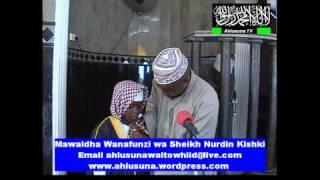 Wanafunzi wa Sheikh Nurdin Kishki Wa Dsm Tanzania By Ahmed Ahlusuna TV Mwanza Tz..avi