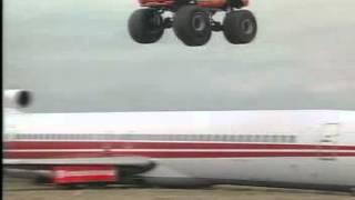 Download Lagu Monster Truck Jumping an Airplane Mp3