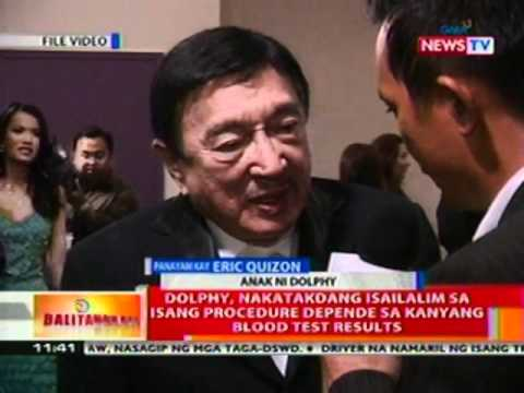 BT: Comedy King Dolphy, stable na ang kondisyon
