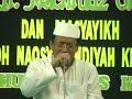 QORI LEGENDARIS KH Muammar ZA – HAFLAH DI PONPES AL HUDA JETIS KEBUMEN 2010