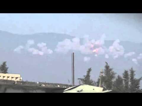 Огненный ад — месть сирийских военных за убитых летчика и морпеха ВС РФ (видео)