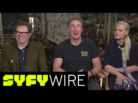 Stan Against Evil Season 2: How Much Goo Can We Expect? | New York Comic-Con 2017 | SYFY WIRE