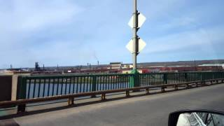 Sault Sainte Marie (ON) Canada  city photos : Crossing Over The International Bridge to Sault Ste Marie Ontario Canada