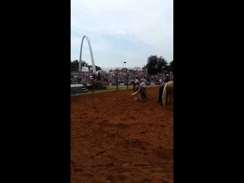 2013 Oklahoma state fair wild west trick riding