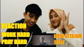Video REACTION! (LIRIK SETAJAM SILET) WORK HARD PRAY HARD (DISS HATERS)-ATTA HALILINTAR, EITARO, DJ LEZTEY MP3, 3GP, MP4, WEBM, AVI, FLV Januari 2019
