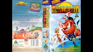 Video Opening of 'Around the World with Timon and Pumbaa' (1996, UK VHS) MP3, 3GP, MP4, WEBM, AVI, FLV Desember 2018