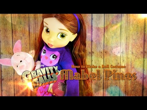 Falls - by request: You asked and we've answered, Have a FABSOME time turning your dolls into Mabel Pines from Gravity Falls!! Our Second Channel: http://www.youtube.com/createsomethingfab Official...