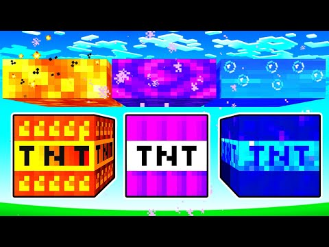 These TNT Blocks DESTROY ANY WORLD In 2 SECONDS!