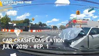 Video Car Crashes Compilation July 2019 - Episode 1 MP3, 3GP, MP4, WEBM, AVI, FLV September 2019