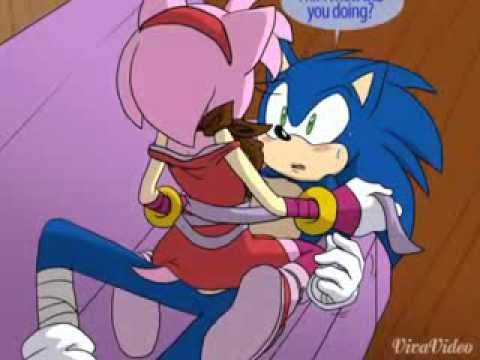 Sonic love amy (видео)