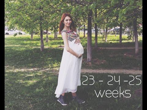 Беременность 23 24 неделя