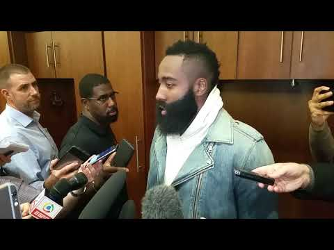 James Harden after historic night vs. LeBron, Cavs