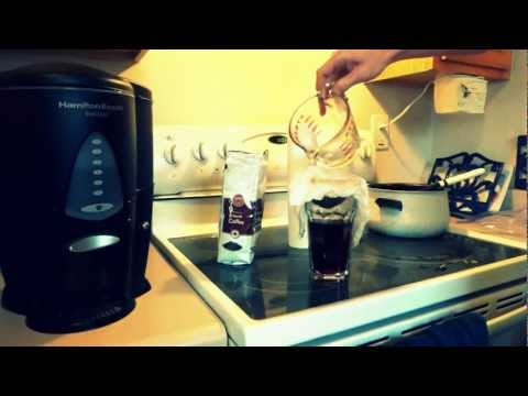 How to make coffee without a coffee maker! Enjoy…. 1080P
