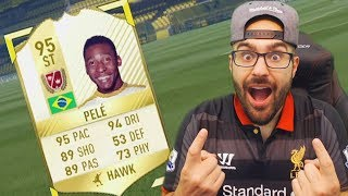 Its been a few days but I found something good to do for the road to glory on fifa 17 ultimate team.. We had to get pele on the RTG!