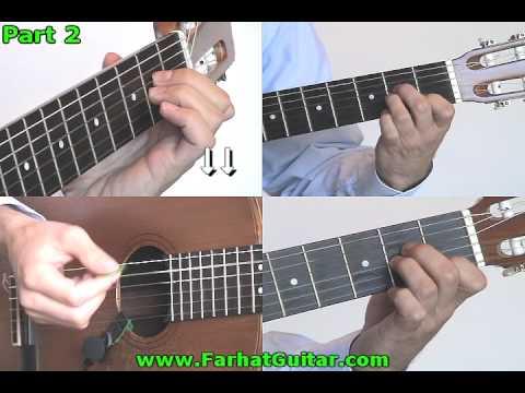 Knocking on Heavens door  Guns and Roses Chord Version Part 2 www.farhatguitar.com